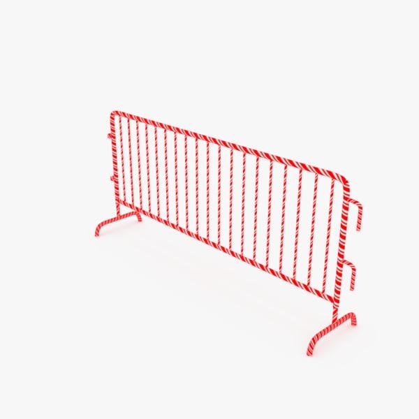 police barrier model