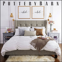 Pottery Barn Harper Bed set