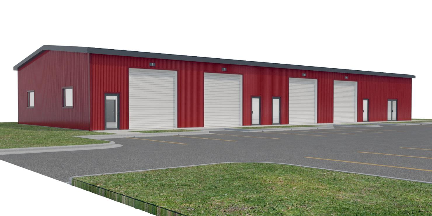 3D commercial warehouse doors site  sc 1 st  TurboSquid & 3D commercial warehouse doors site - TurboSquid 1234415