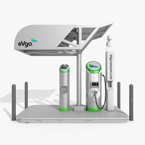 3D electric vehicle charging