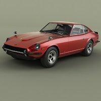 1974 datsun 260z 2 3D model