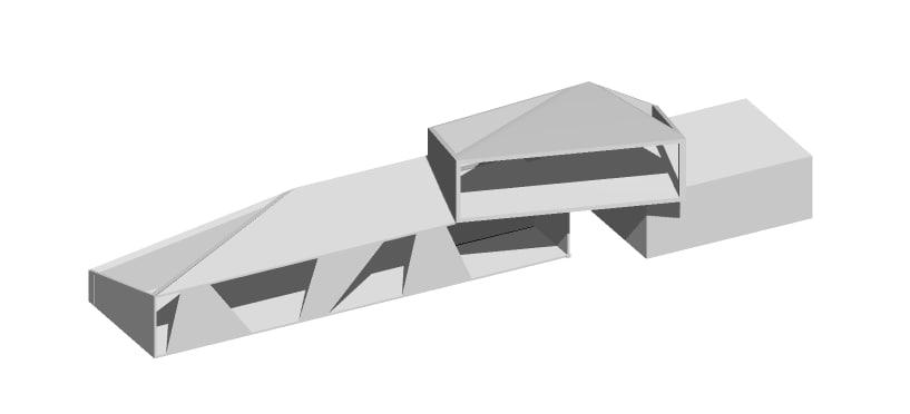 house light shadows 3D model