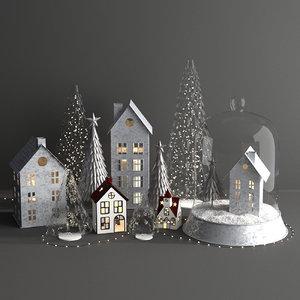 pottery barn 3D model