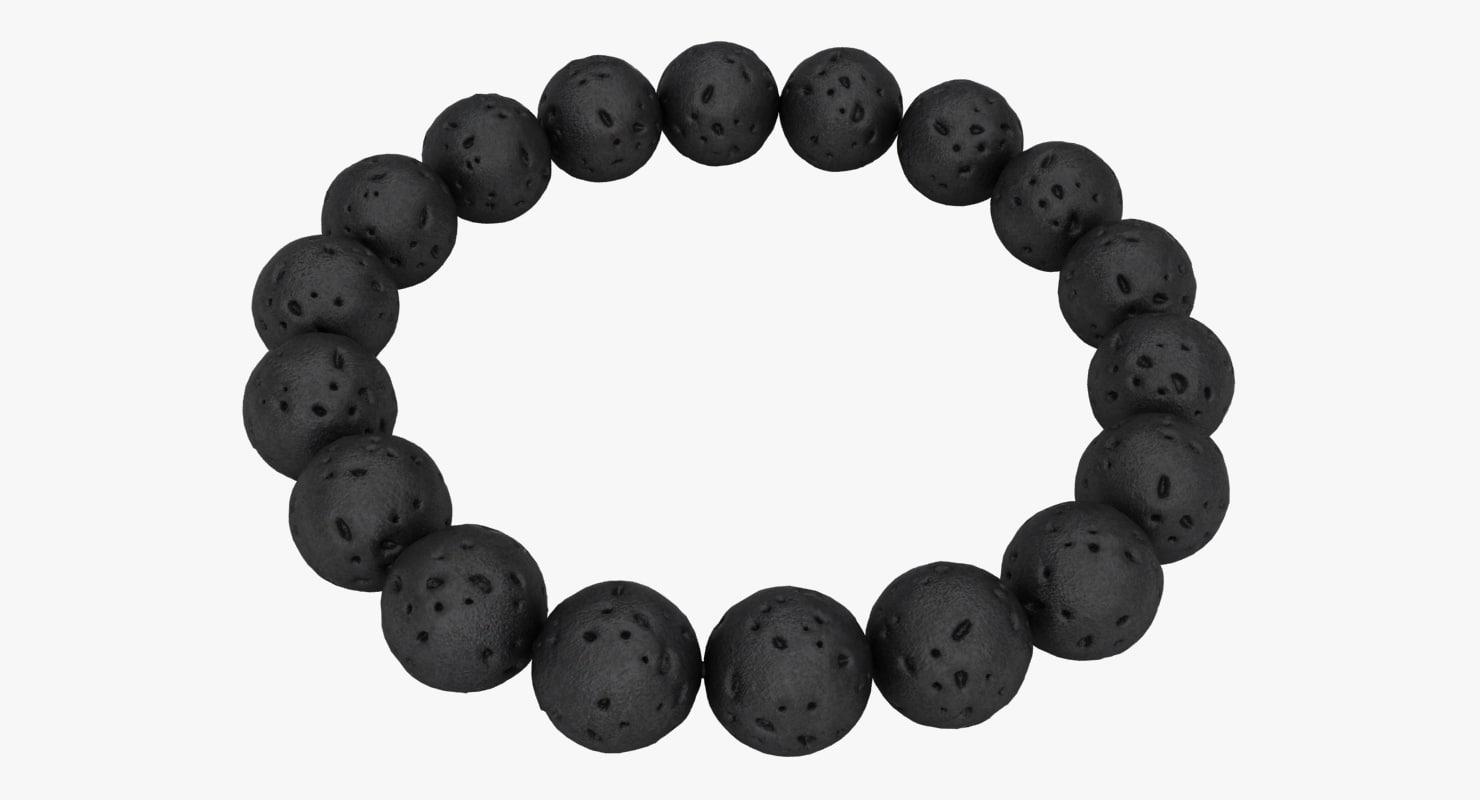 stone bracelet 3D