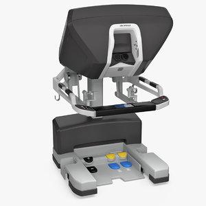 surgeon console da vinci 3D model