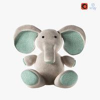 elephant toy 3D model