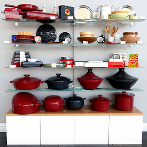 dishes designers 3D