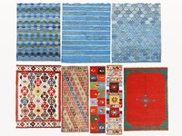 Vintage turkish kilim rugs vol 03
