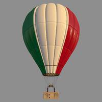 3D parachute italy model