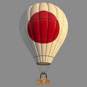 3D parachute japon