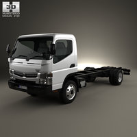 3D nissan atlas chassis
