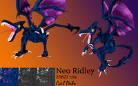 neo ridley metroid fusion 3D model