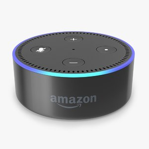 amazon echo dot 2nd 3D
