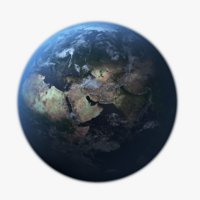 Earth Photorealistic 32K