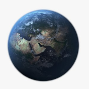 3D photorealistic earth
