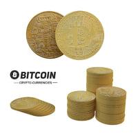 bitcoin set 3D model
