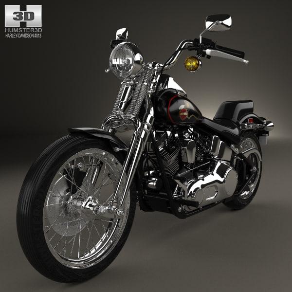 Harley Turbo Review: Harley-davidson Harley Davidson 3D Model