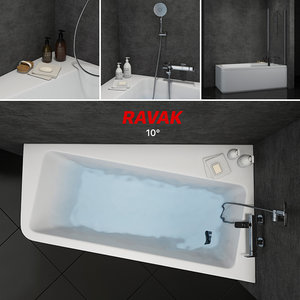 3D bath ravak 10