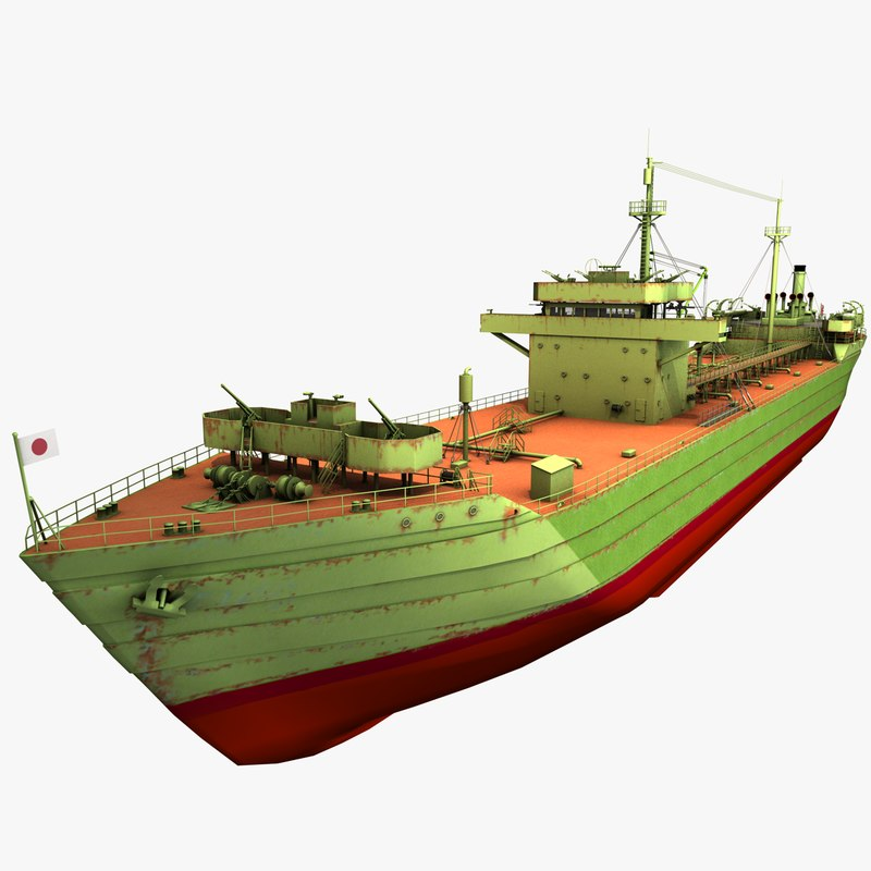 japanese wartime standard type 3D model
