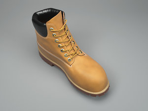 3D timberland boots fashion