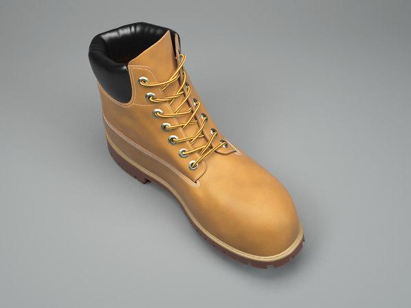 3D timberland boots fashion