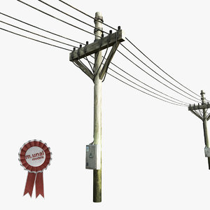 electric pole model