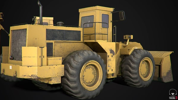 engineering transport 3D model