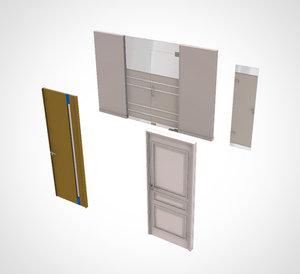 office door 4 3D model