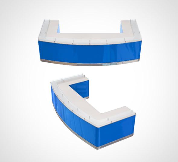 receptionist desk 3D model