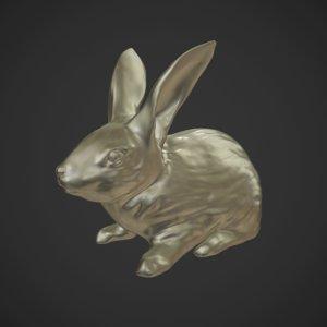 rabbit sculpt model