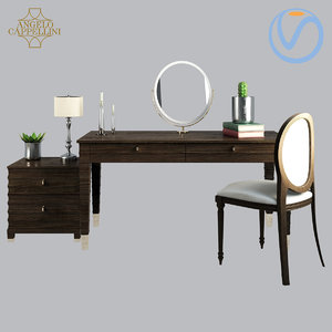 angelo cappellini opera dressing table 3D