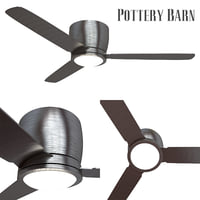 pottery barn ceiling fan 3D
