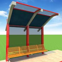 3D bus station