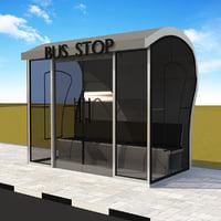 3D model bus element