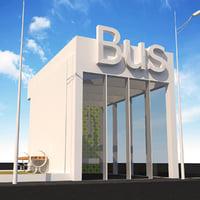 3D bus element model