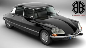 citroen ds 23 pallas 3D model