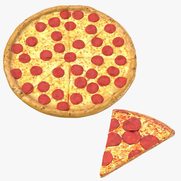 pizza sliced model