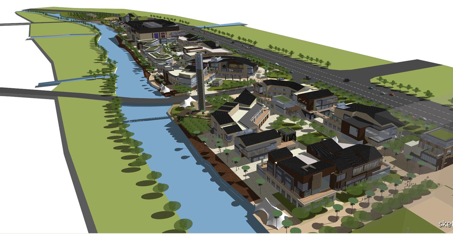 designed architectural visualizations 3D model