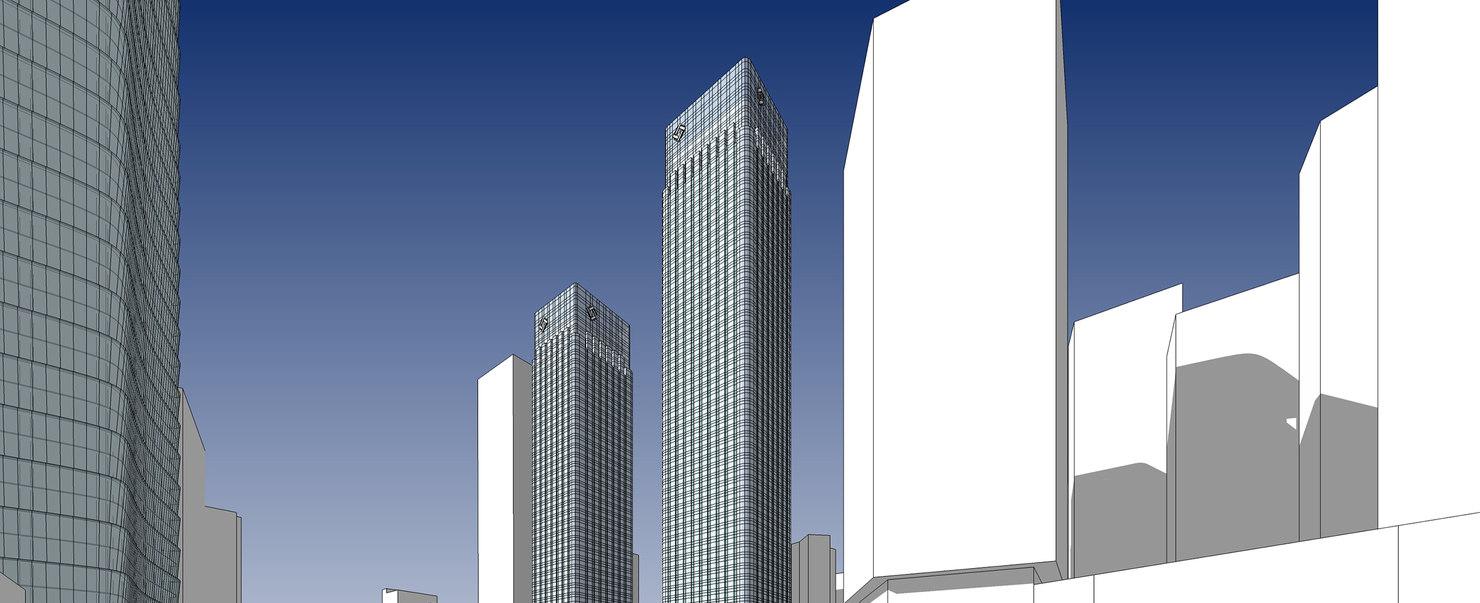 3D sketchup exteriors renders model