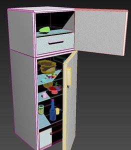 3D fiction fridge