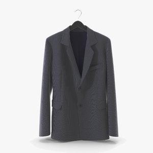 3D jacket 01 cloth model
