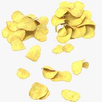 3D chips piles
