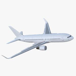 boeing 767-200er generic rigged 3D model