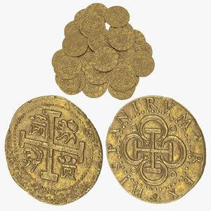 gold coin 3D