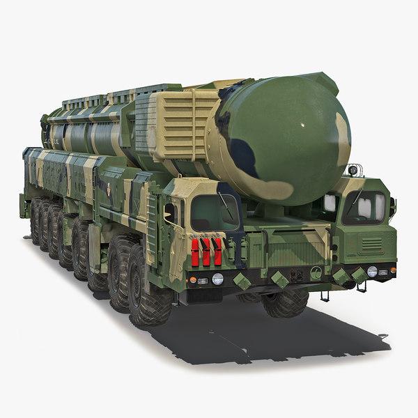 transporter erector launcher rt-2pm 3D