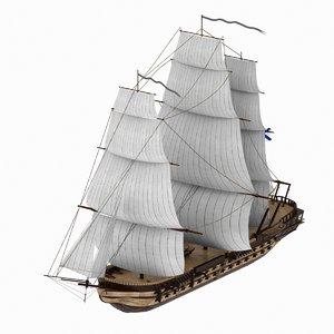 84 ship empress maria 3D model