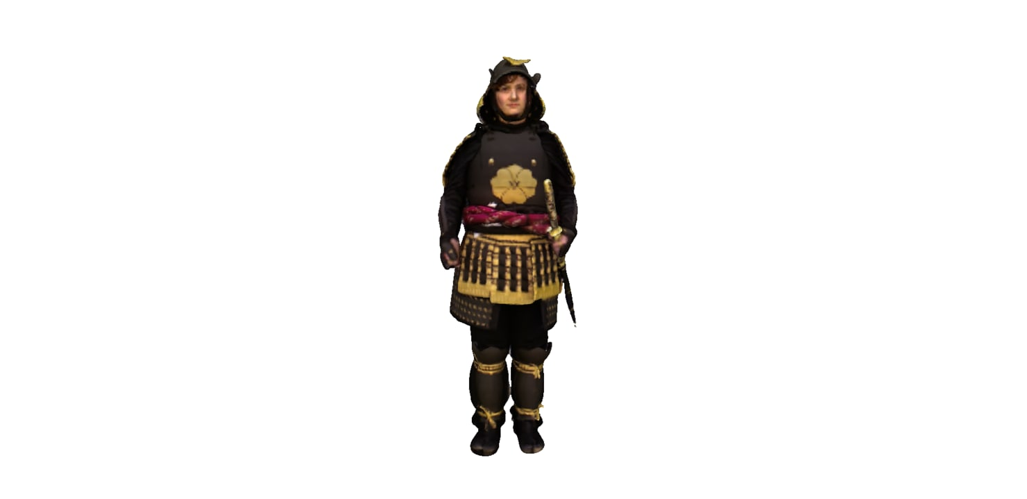 samura bujinkan 3D model
