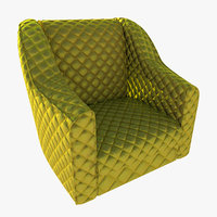 chair-steal mesh 3D model