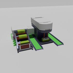 3D model polygonal