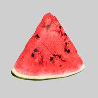 3D watermelon water